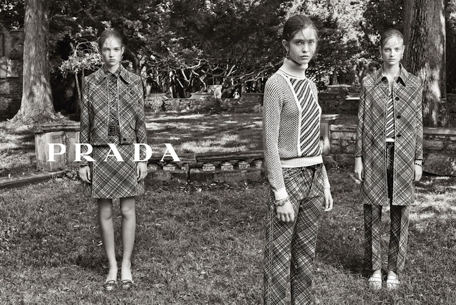 Prada Resort 2015 Campaign