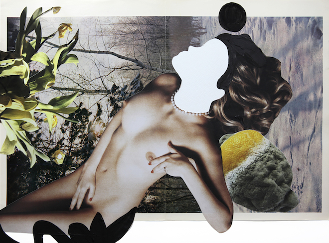 Quentin Jones, Adult Series, 2014, acrylic, ink and collage, first published in Adult Magazine, courtesy of the artist_3