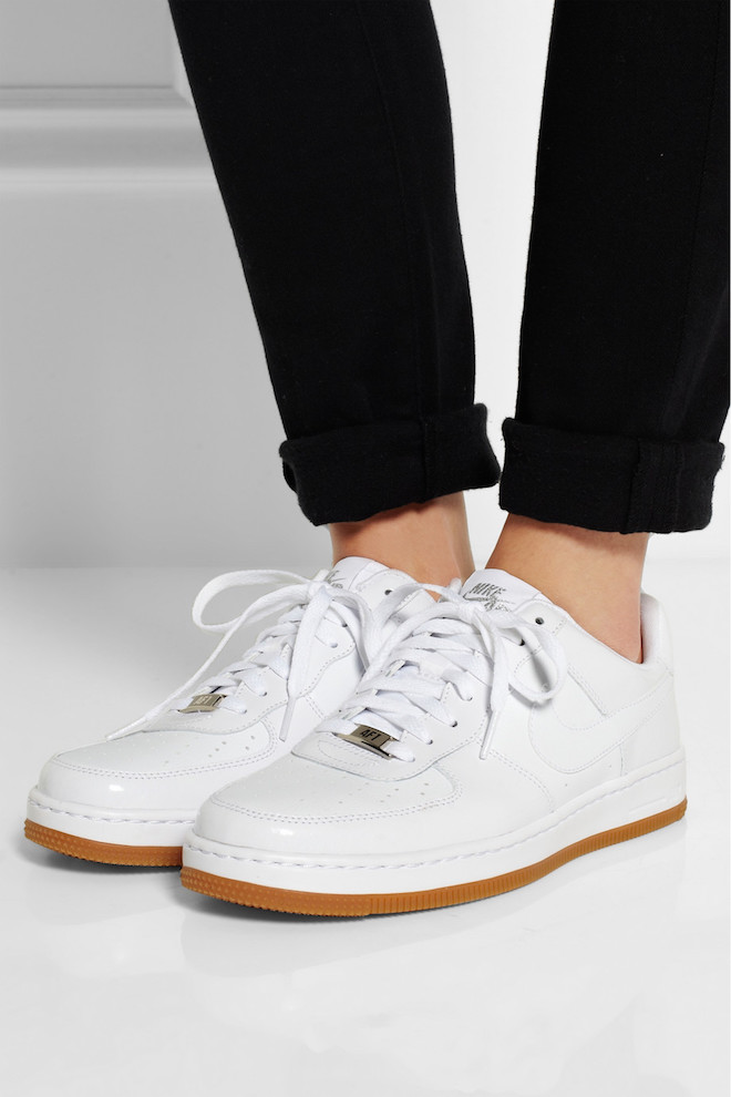 Twin Picks White Sneakers