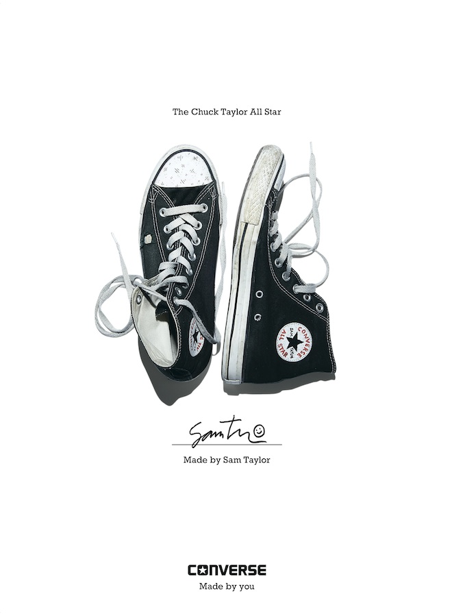 Sam Taylor - Converse Sneaker Portrait