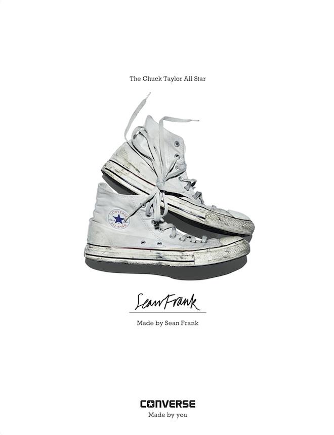 Sean Frank Converse Sneaker Portrait Twin Magazine