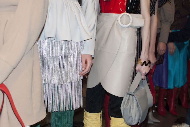 Twin Backstage JW Anderson AW15