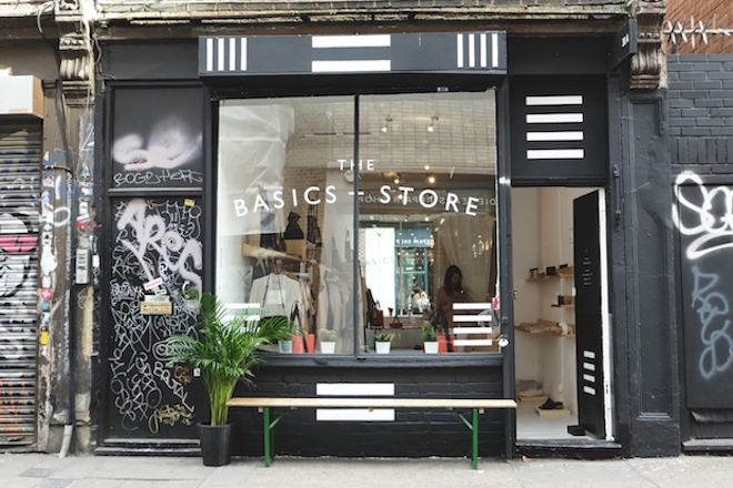 The Basic Store Redchurch Street London     -1