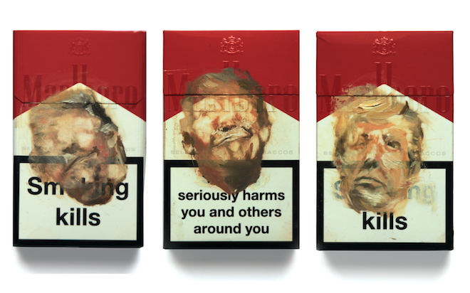 AM Trump's Fags triptych