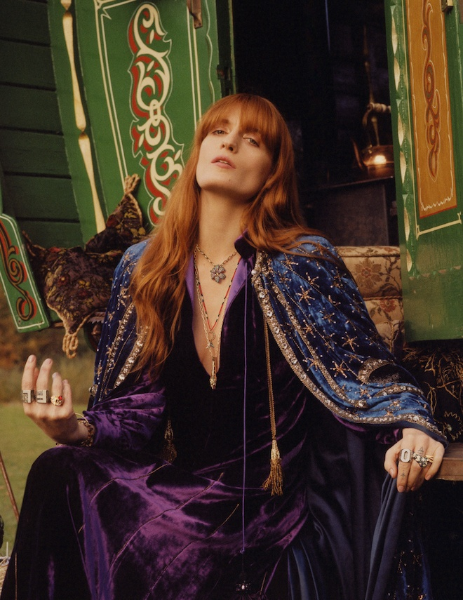 2424cc4628d Gucci Jewellery ft. Florence Welch -Bohemian Elegance