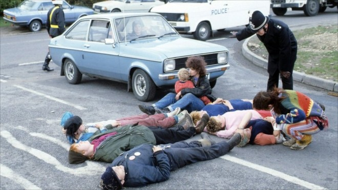 greenham common protest