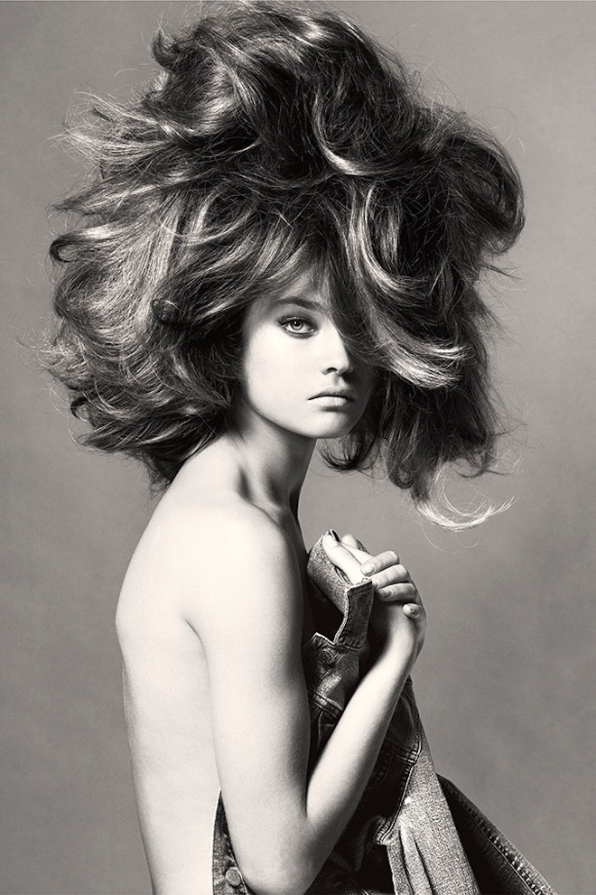 Natalia Vodianova, New York City, Vogue Italia, May, 2005