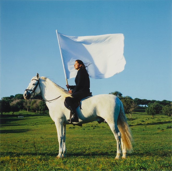 Marina Abramovic, The Hero, 2001