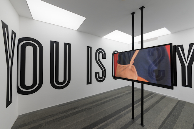 artine Syms (United States) Lessons I-LXXV, 2014-2017 Series of 0' 30'' videos. Courtesy of the artist and Bridget Donahue Gallery