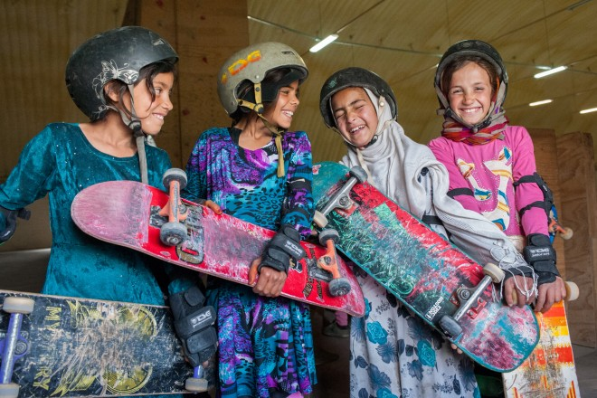 Skate Girls of Kabul | © Jessica Fulford-Dobson