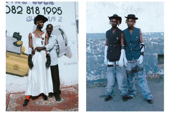 Photos above Kristin Lee Moolman and Ibrahim Kamara. All other photos courtesy of the artist.