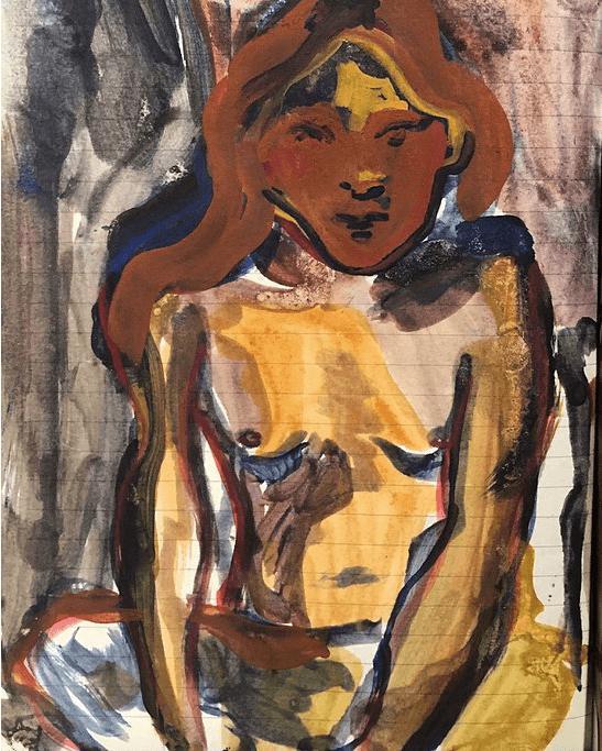 'Disgusting, Self Portrait', 2016   © Antonia Showering