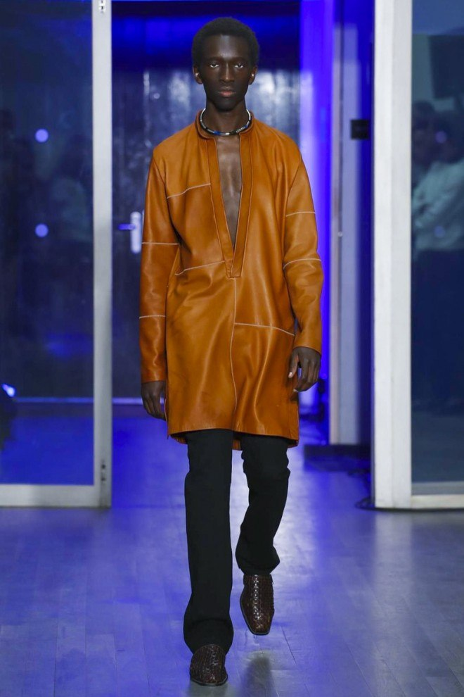Wales Bonner, Fashion Show, Menswear Collection Spring Summer In London